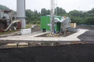 Nový kotel na biomasu