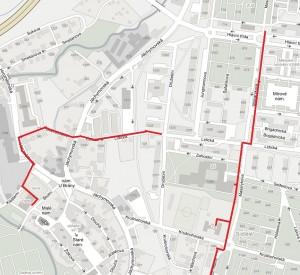 mapa trasy 2